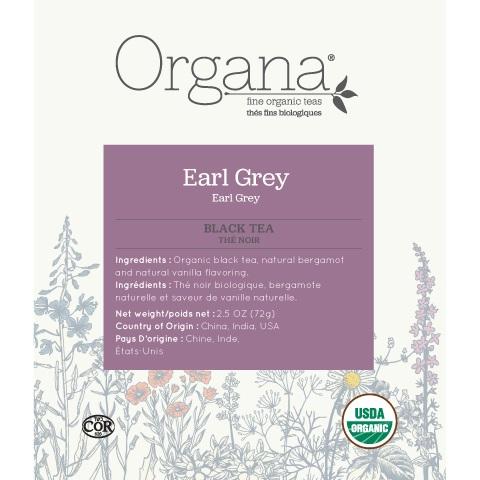 Organa Earl Grey Tea Pods 18ct thumbnail