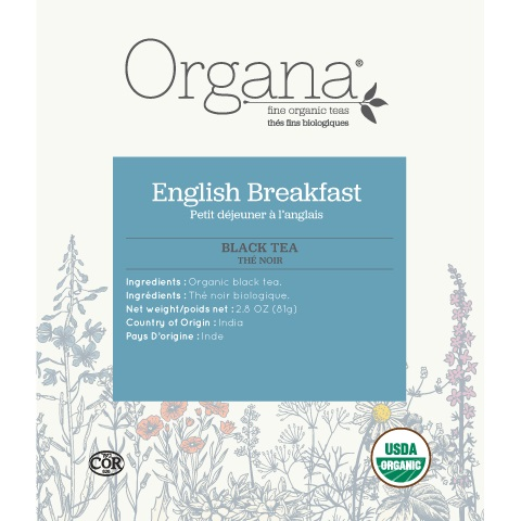 Organa English Breakfast Tea Pods 18ct thumbnail