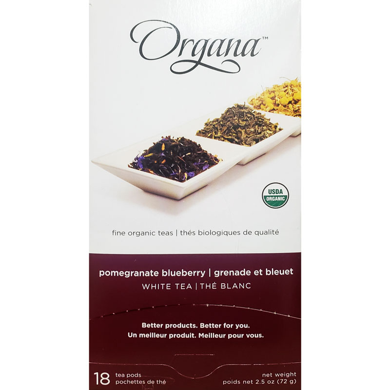 Organa Pomegranate Blueberry Tea Pods 18ct thumbnail