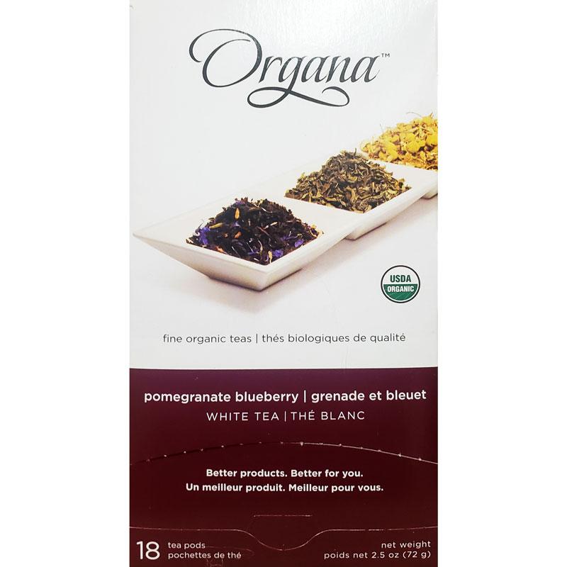 Organa Pomegranate Blueberry Tea Pods 18ct thumbnail