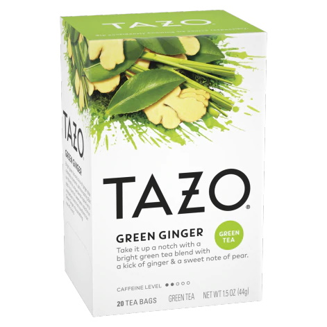 Tazo Green Ginger 20 ct thumbnail
