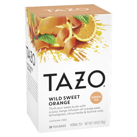 Tazo Wild Sweet Orange 20 ct thumbnail