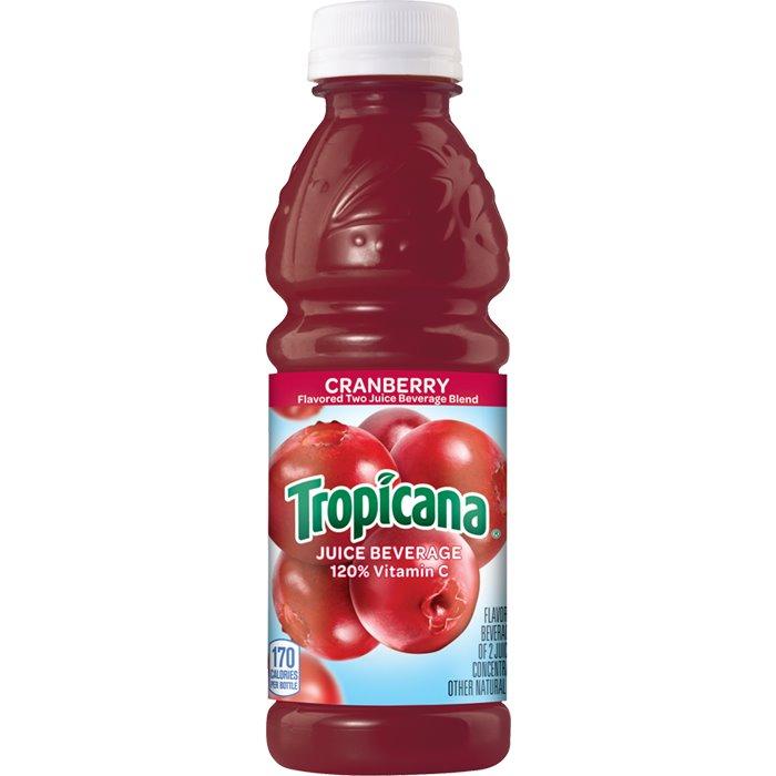 Tropicana Cranberry Juice 10oz thumbnail