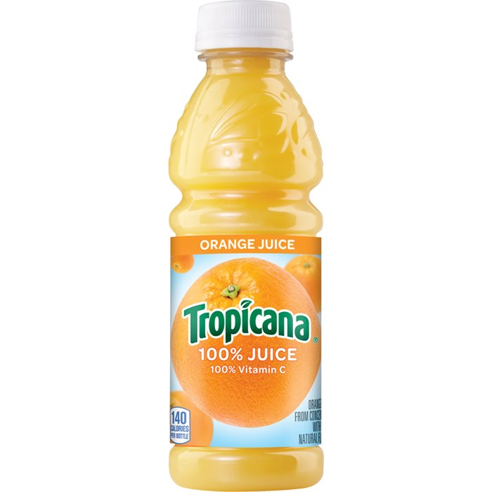Tropicana Orange Juice 10oz thumbnail