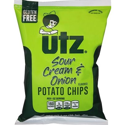 Utz Sour Cream & Onion Chips-662(60) thumbnail