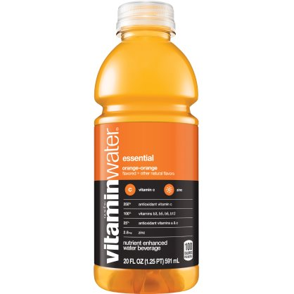 Vitamin Water Essential - Orange 20 oz thumbnail
