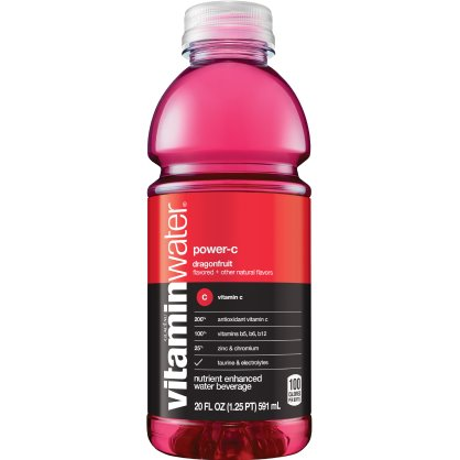 Vitamin Water Power C - Dragon fruit 20 oz thumbnail