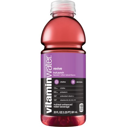 Vitamin Water Revive - Fruit Punch 20 oz thumbnail