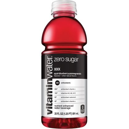 Vitamin Water XXX - Acai- Blueberry Pomegranate (Zero) 20 oz thumbnail