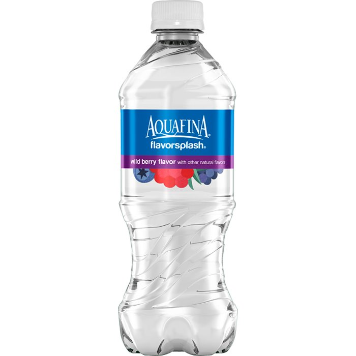 Aquafina Splash Wild Berry 20 oz thumbnail