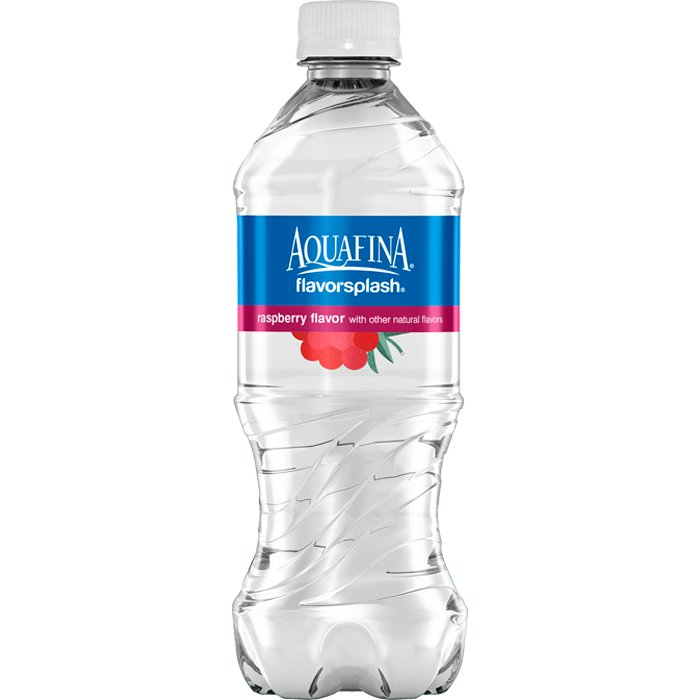 Aquafina Splash Raspberry 20 oz thumbnail