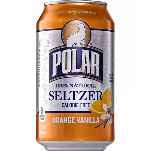 Polar Seltzer Orange Vanilla 12oz thumbnail