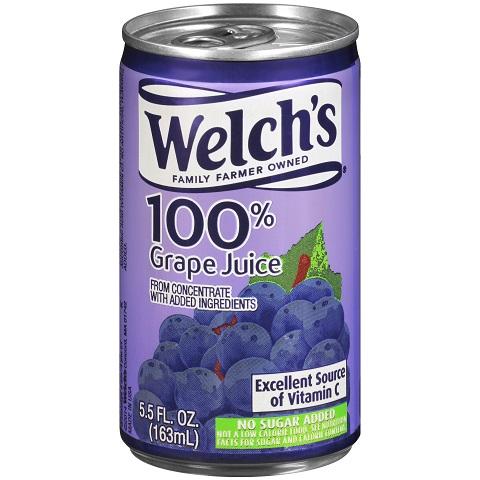 Welch's Grape Juice 5.5 oz thumbnail
