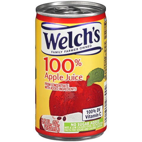 Welch 100% Apple 5.5 oz thumbnail