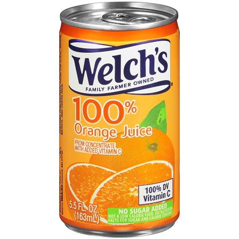 Can Juice Welchs 5.5oz Orange thumbnail