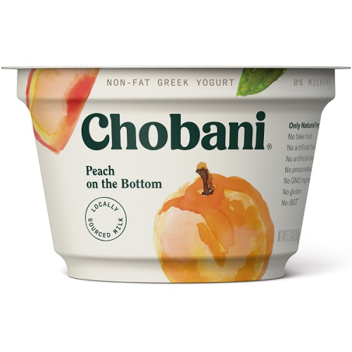 Chobani Greek Yogurt Peach thumbnail