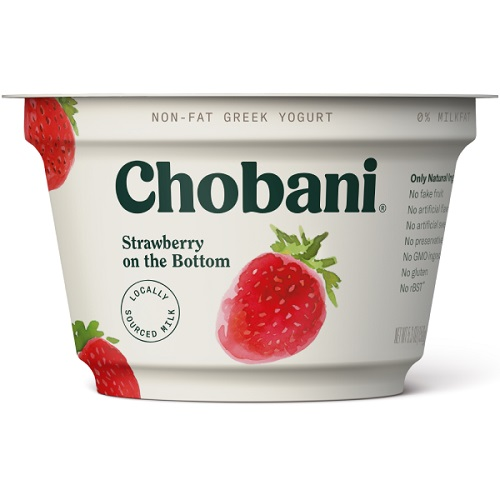Chobani Strawberry Greek Yogurt thumbnail