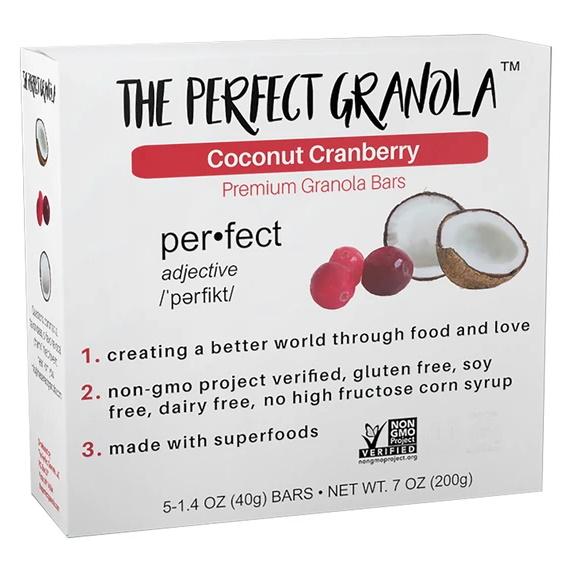 Perfect Granola Coconut Cranberry thumbnail