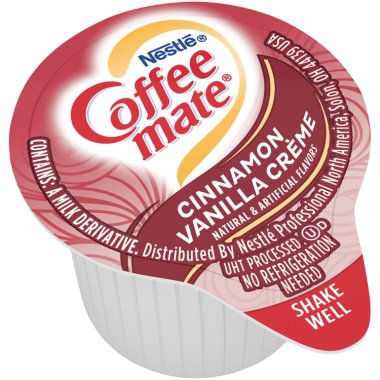 Coffeemate Cinnamon Mini Liquid Cream Cups 50ct thumbnail