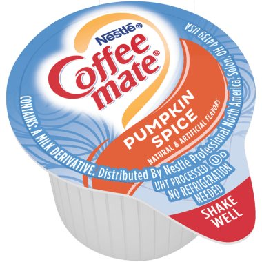 Coffeemate Pumpkin Spice Liquid Cream Cups 50ct thumbnail