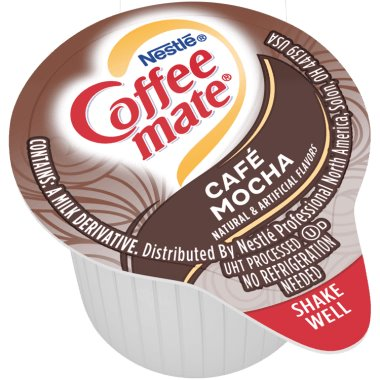 Coffeemate Chewy Chocolate Mocha Liquid Cream Cups 50ct thumbnail
