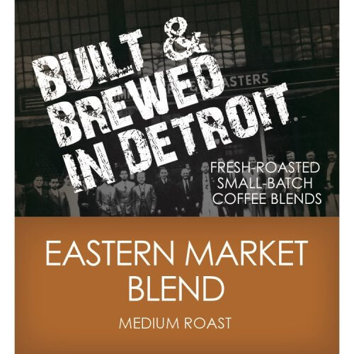 Built & Brewed Eastern Market Whole Bean 4lb thumbnail