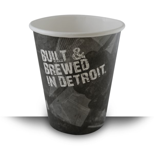 Built & Brewed Double Wide Lid 12oz Hot Cup thumbnail