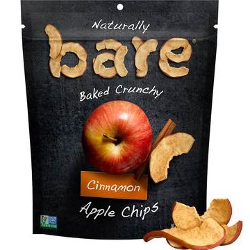 Bare Fruit Cinnamon Apple Chips thumbnail