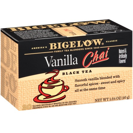 Bigelow Vanilla Chai Tea 28ct thumbnail