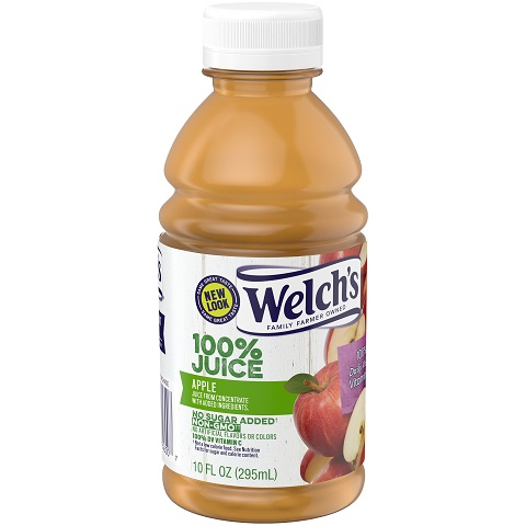 Welch's Apple Juice 10oz thumbnail