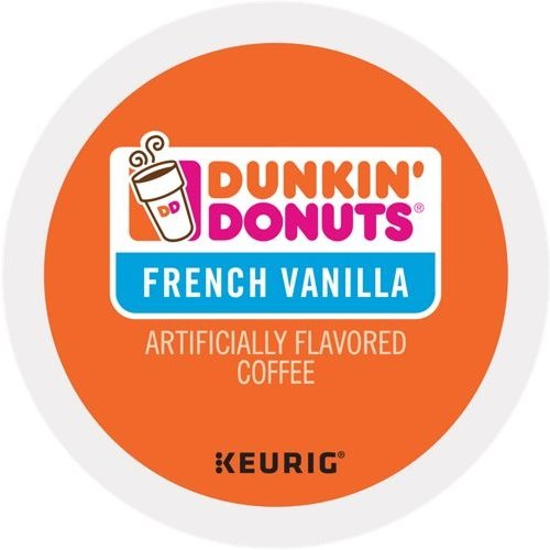 K-Cup Dunkin French Vanilla Coffee thumbnail