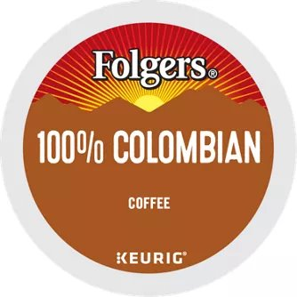 K-Cup Folgers Lively Colombian thumbnail