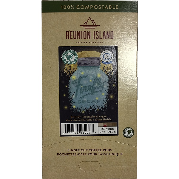 Reunion Island Pods Decaf Firefly 16 ct thumbnail