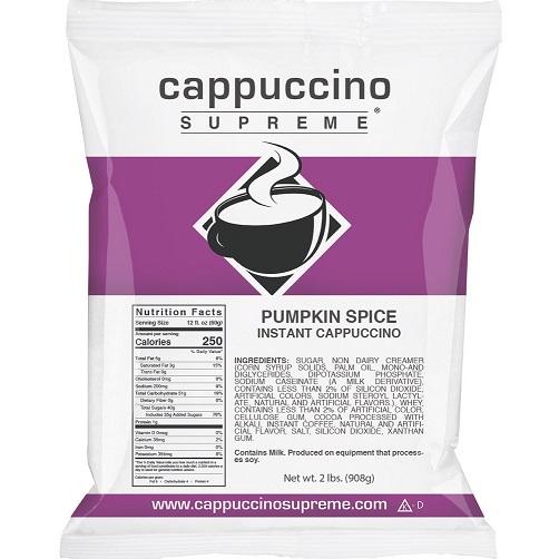 Cappuccino Supreme Pumpkin Spice 2lb thumbnail