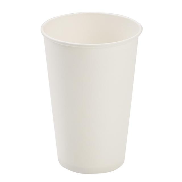 16oz White Paper Hot cup thumbnail