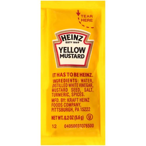 Heinz Mustard Packets thumbnail