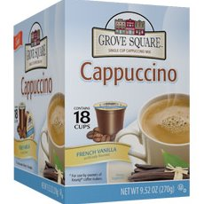 K-Cup Grove Square French Vanilla Cappuccino 24ct thumbnail