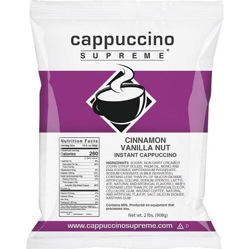 Cappuccino Supreme Cinnamon Nut 2lb thumbnail