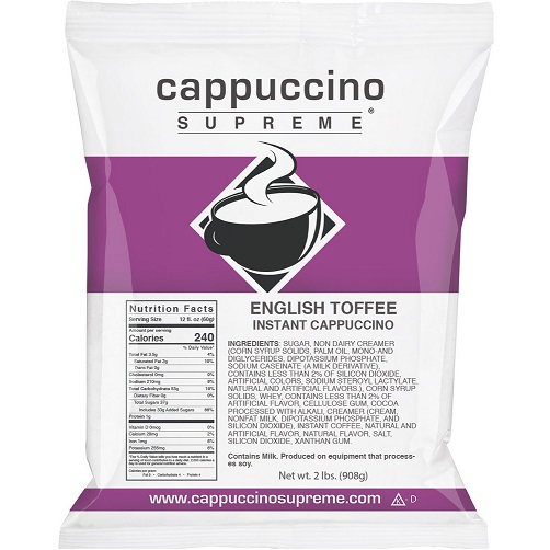Cappuccino Supreme English Toffee thumbnail
