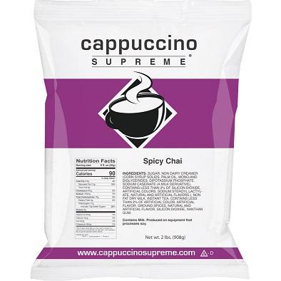 Cappuccino Supreme Chai Tea 2lb thumbnail