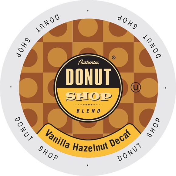 K-Cup Authentic Donut Shop Vanilla Hazelnut Decaf 24ct thumbnail