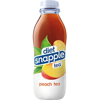 Snapple Diet Peach 16oz thumbnail