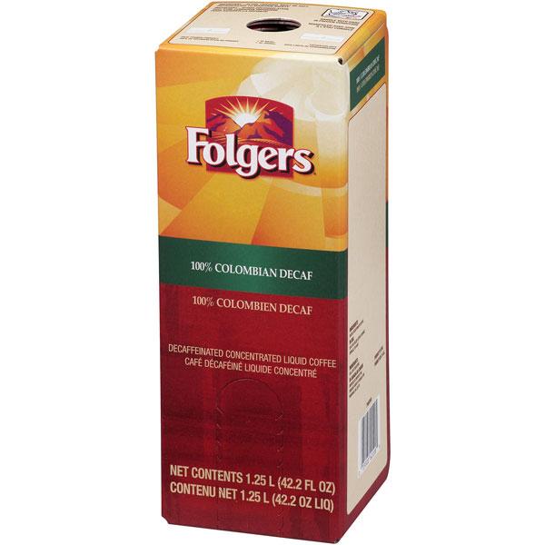 Folgers Liquid Decaf Colombian 100% 1.25 thumbnail