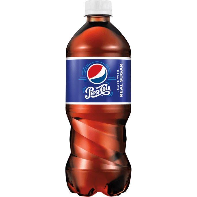 Pepsi Real Sugar 20oz thumbnail
