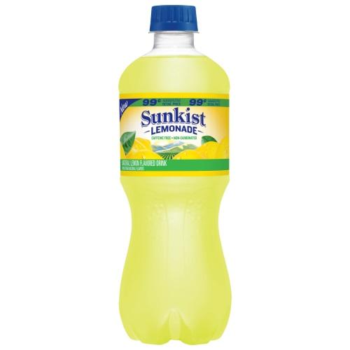 Sunkist Lemonade 20oz thumbnail