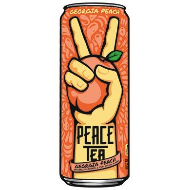 Peace Tea Georgia Peach 23oz thumbnail