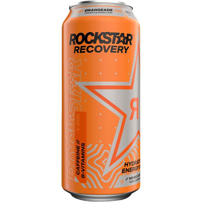 Rockstar Recovery Orange 16oz thumbnail
