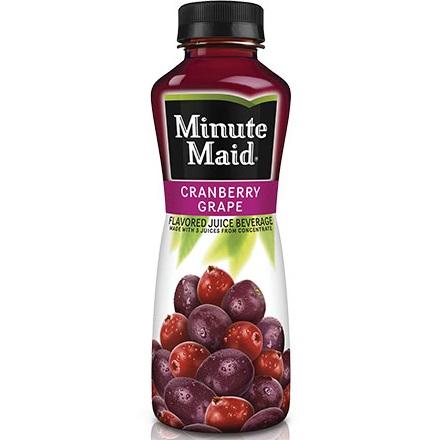 Minute Maid Grape Cranberry 12oz thumbnail