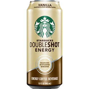 Starbucks Coffee Double Shot Vanilla 15oz thumbnail