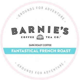 K-Cup Barnies Blend French Roast Dark thumbnail